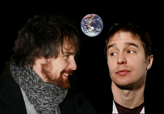 2 Sam Rockwells talk to each other on the moon (Dramatization)