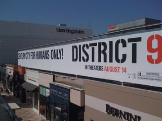 I saw this banner at Century City Mall while vacationing in L.A.