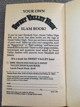 SVH Slam Book